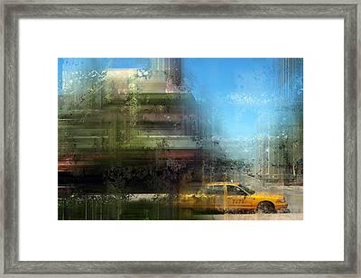 City-art Miami Beach Framed Print