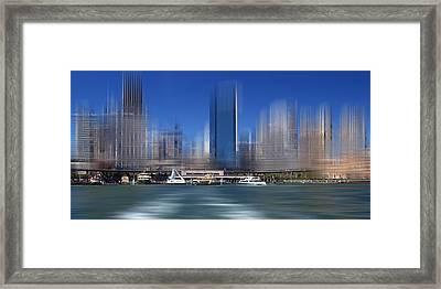 City-art Sydney Circular Quay Framed Print