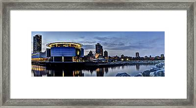 City At A Glance Framed Print