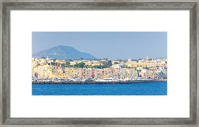 City At Waterfront, Marina Grande Framed Print by Panoramic Images