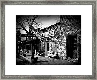 Framed Print featuring the photograph City Bakery by Janice Westerberg