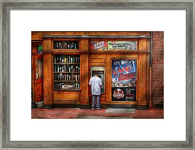 City - Baltimore Md - Explore The Land Of Beer  Framed Print by Mike Savad