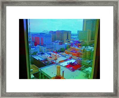 City Blues II Framed Print