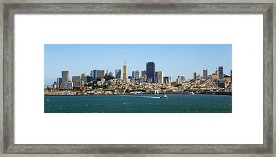 City By The Bay Framed Print by Kelley King