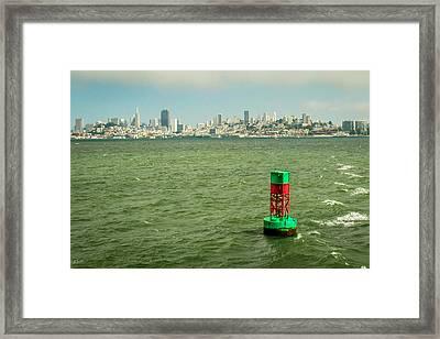 City By The Bay Framed Print