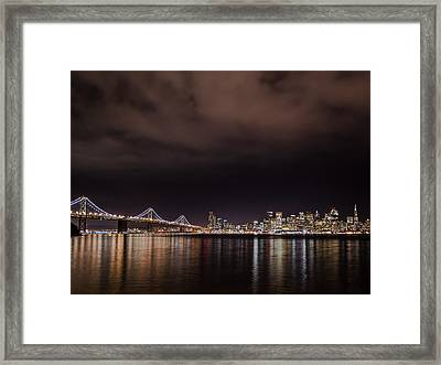 City By The Bay Framed Print