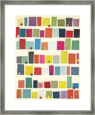 City Framed Print by Cassia Beck