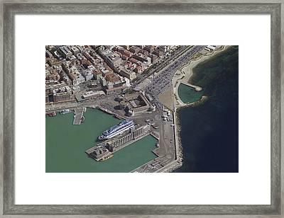 City Center, Civitavecchia Framed Print