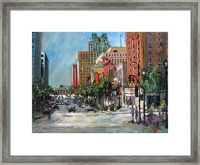City Color Framed Print