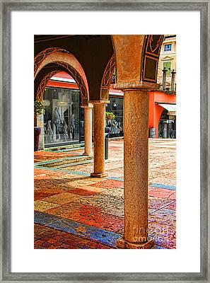 City Colors Framed Print by Kasia Bitner