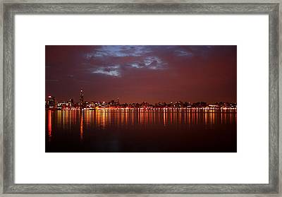 City Framed Print by Cristin Sirbu