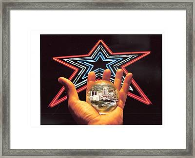 City Dreams Framed Print by Scott Ware