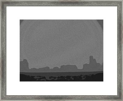 Framed Print featuring the photograph City Escape by Tom DiFrancesca