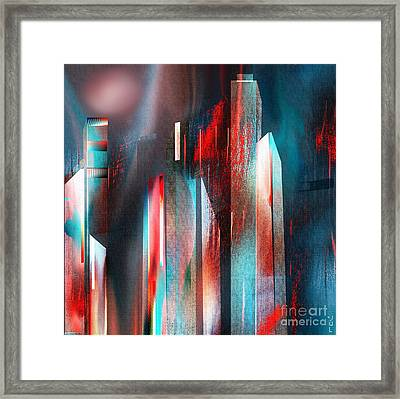 City Escape Framed Print by Yul Olaivar
