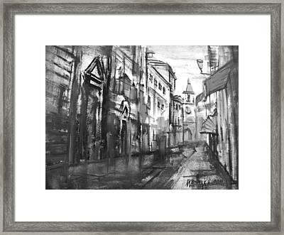 City Everyday Life  Framed Print by Khromykh Natalia
