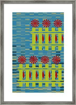 City Garden Framed Print by Ben and Raisa Gertsberg