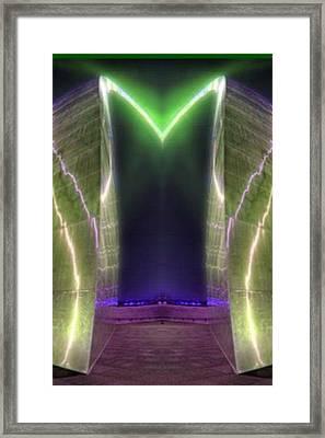 City Gate Framed Print