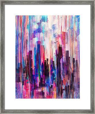 City Girl Framed Print