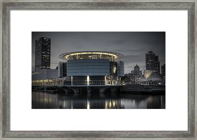 Framed Print featuring the photograph City Glare by Deborah Klubertanz