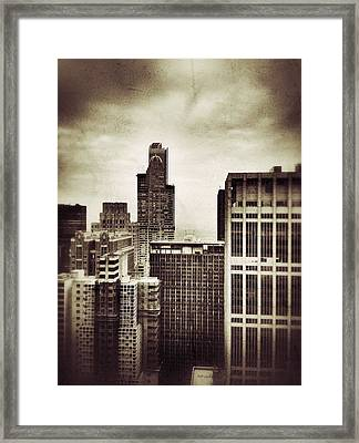 City Framed Print by H James Hoff