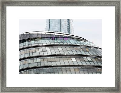 City Hall And The Shard At More London Framed Print