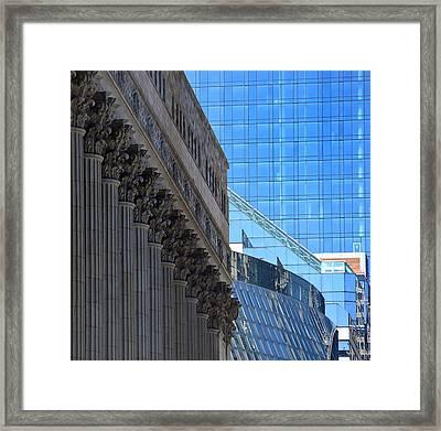 Chicago City Hall Framed Print