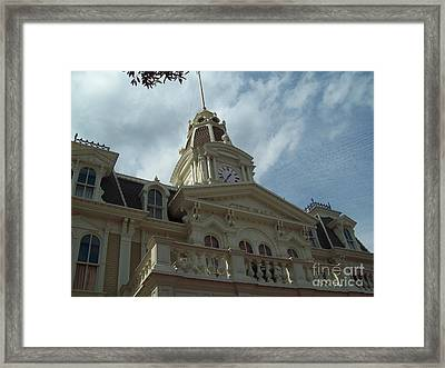 City Hall II Framed Print