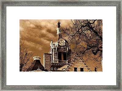 Framed Print featuring the photograph City Hall by Karen Kersey