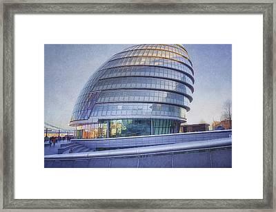 City Hall London Framed Print by Joan Carroll