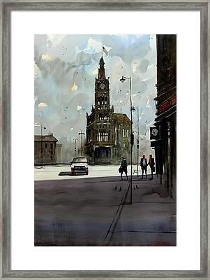 City Hall - Milwaukee Framed Print by Ryan Radke