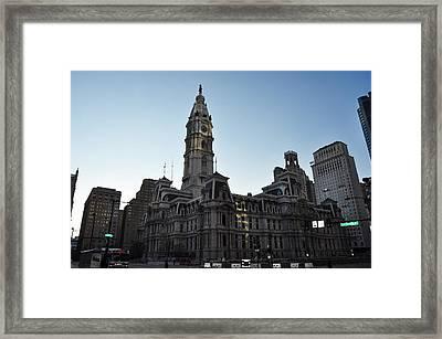 City Hall - Philadelphia Pennsylvania Framed Print