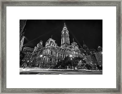 City Hall Framed Print by Rob Dietrich