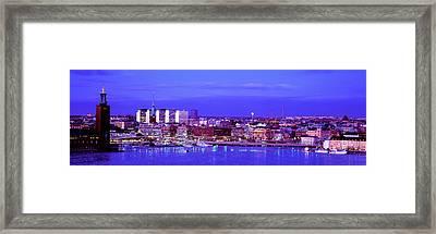 City Hall, Stockholm, Sweden Framed Print