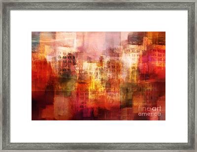 City Imagination Framed Print by Lutz Baar