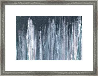 City In The Night Framed Print