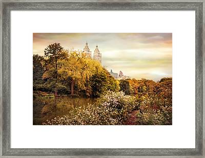 Autumn At San Remo Framed Print by Jessica Jenney