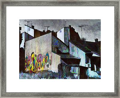 City Landscape Framed Print