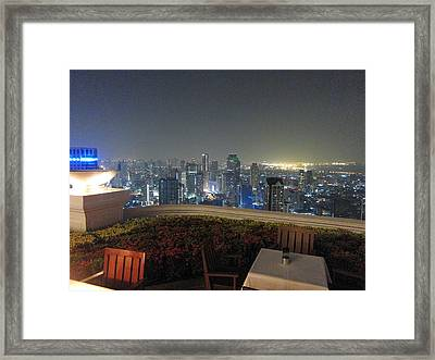 City Life - Bangkok Thailand - 01137 Framed Print by DC Photographer