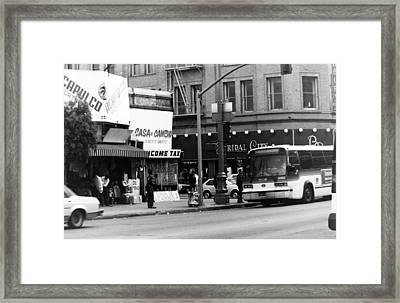 City Life Framed Print by Karl Rose