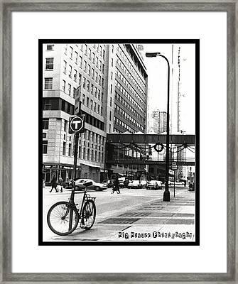 City Life Framed Print by Kip Krause