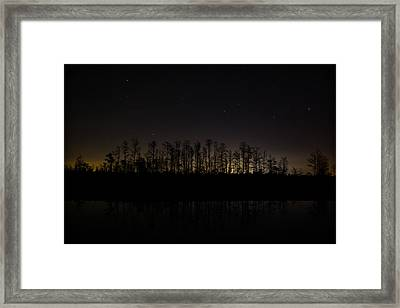 City Lights 2 Framed Print