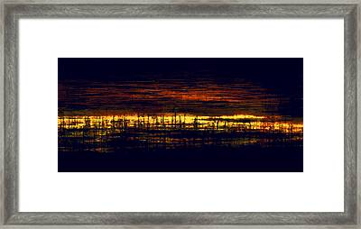 City Lights Framed Print by Lonnie Christopher