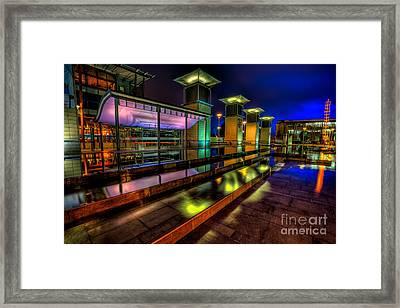 City Lights Framed Print by Adrian Evans