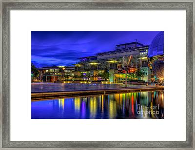 City Lights @bristol Framed Print by Adrian Evans