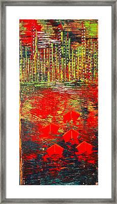 City Lights - Sold Framed Print