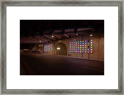 City Lights Framed Print by Jacqui Collett