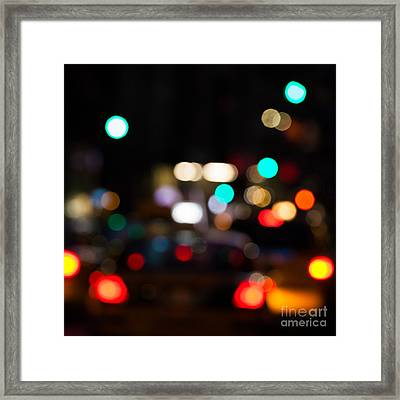 City Lights  Framed Print by John Farnan
