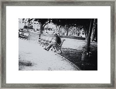 City Lonesome Framed Print by Karol Livote