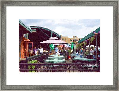 City Market Framed Print by Liane Wright