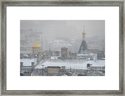 City Mist 2 Framed Print